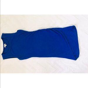 Guess royal blue dress.  Size xs. Day/night dress